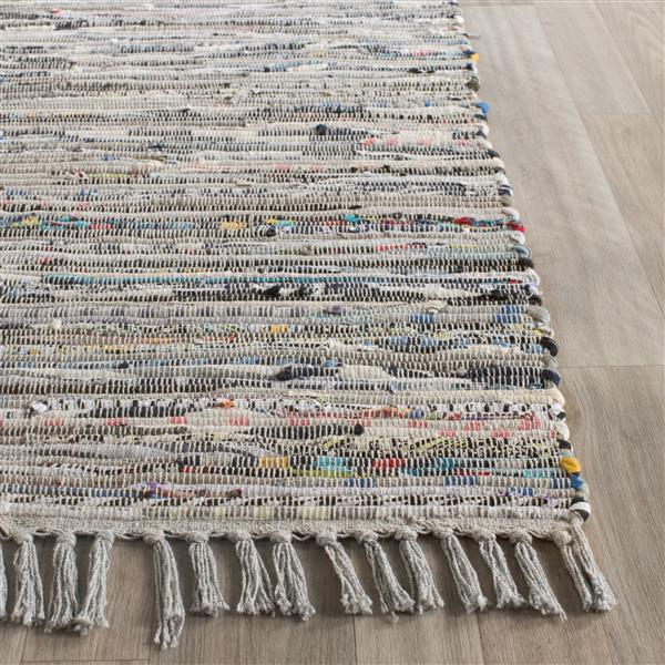 Safavieh Decorative Rag Rug - 2' x 3' - Grey