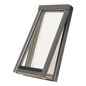 """Fakro Manual Vented Skylight - 26.5"""" - Aluminum"""