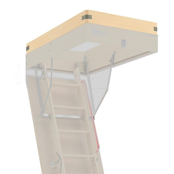 """Fakro Extension for Attic Ladder - 22.5"""" x 54"""" - Wood - Clear"""