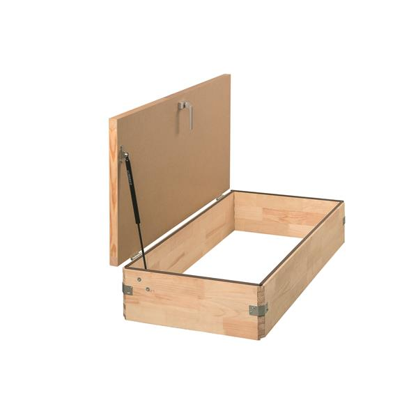 """Fakro Upper Hatch for Attic - 25"""" x 54"""" - Wood - Clear"""