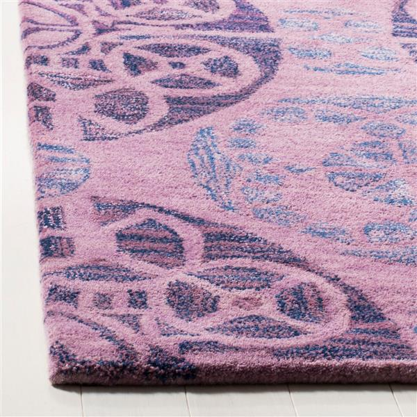 Safavieh Wyndham Rug - 8' x 10' - Wool - Purple