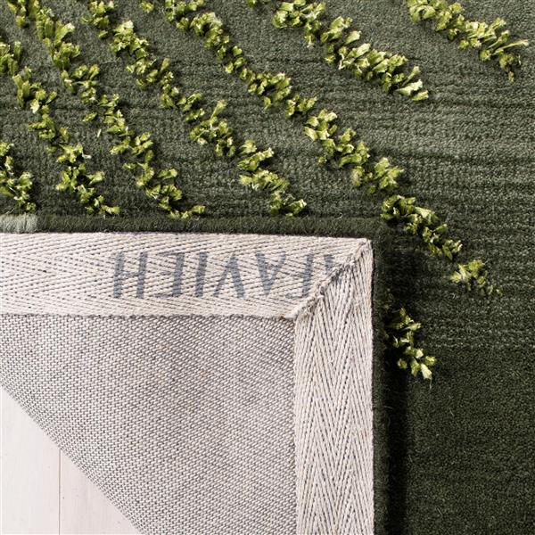 Safavieh Soho Rug - 2.5' x 6' - Wool - Green/Multi