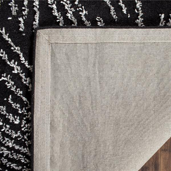 Safavieh Soho Rug - 2' x 3' - Wool - Black/White