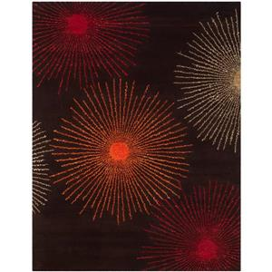 Safavieh Soho Rug - 8.3' x 11' - Wool - Brown/Multi