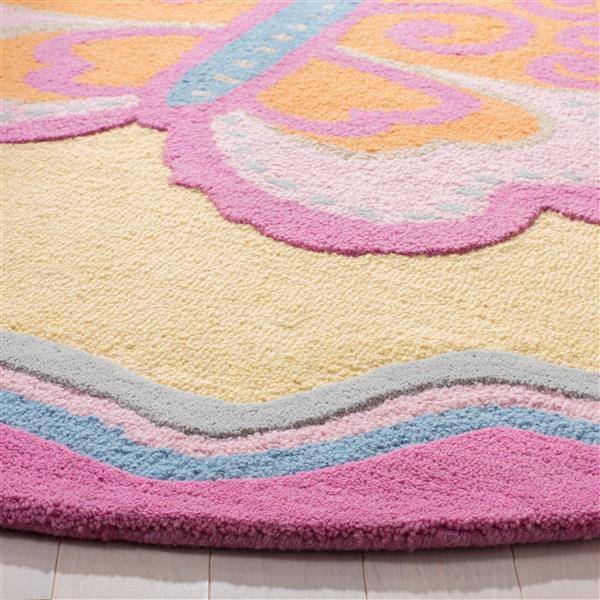 Safavieh Kids Rug - 2' x 3' - Wool - Multi/Pink