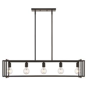 Tribeca Linear Pendant Light - Black
