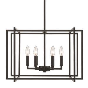Tribeca 6-Light Chandelier - Black