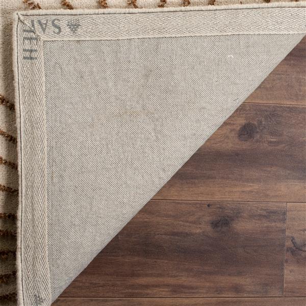 Safavieh Soho Abstract Rug - 8' x 8' - Wool - Beige