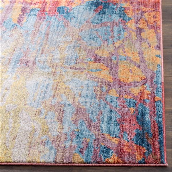 Safavieh Bristol Rug - 3' x 5' - Polyester - Blue