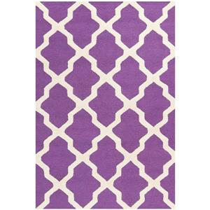 Safavieh Cambridge Trellis Rug - 3' x 5' - Wool - Purple