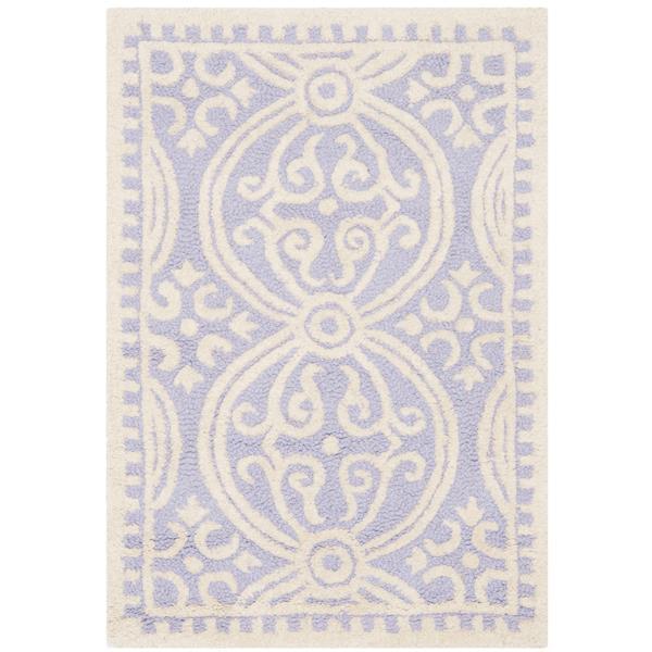 Safavieh Cambridge Abstract Rug - 2.5' x 4' - Wool - Purple