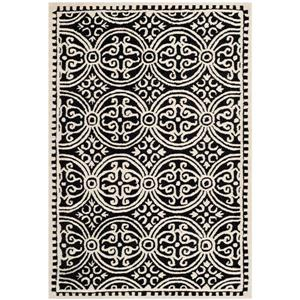 Safavieh Cambridge Abstract Rug - 3' x 5' - Wool - Black
