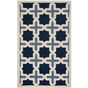 Safavieh Cambridge Abstract Rug - 3' x 5' - Wool - Blue