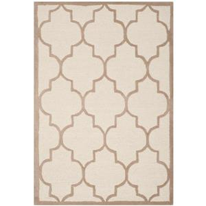 Safavieh Cambridge Trellis Rug - 4' x 6' - Wool - Beige