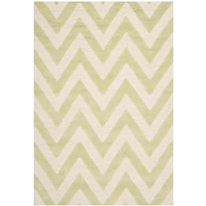 Safavieh Cambridge Chevron Rug - 3' x 5' - Wool - Light Green