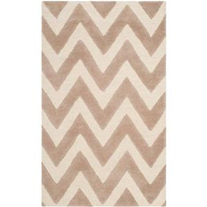 Safavieh Cambridge Chevron Rug - 3' x 5' - Wool - Beige