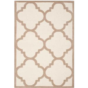 Safavieh Cambridge Trellis Rug - 3' x 5' - Wool - Ivory