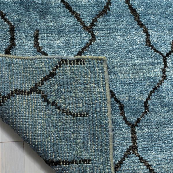 Safavieh Moroccan Rug - 8' x 10' - Viscose - Blue