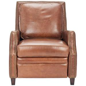 Leather Italian Recliner - Brown - 30