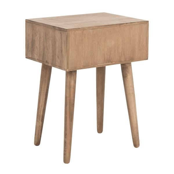 Safavieh Lyle Accent Table - 12 x 21 x 18 - Brown