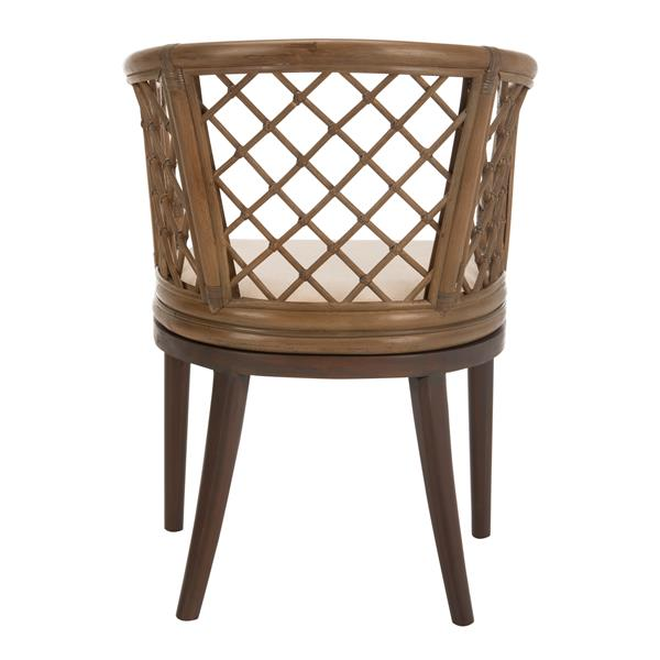 Safavieh Carlotta Arm Chair - Grey