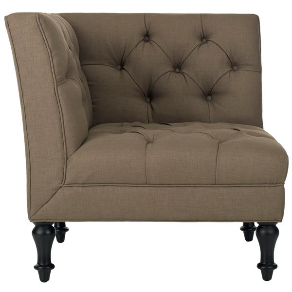 Safavieh Jack Tufted Corner Chair - Green