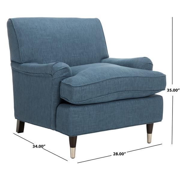 Safavieh Chloe Club Chair - Blue