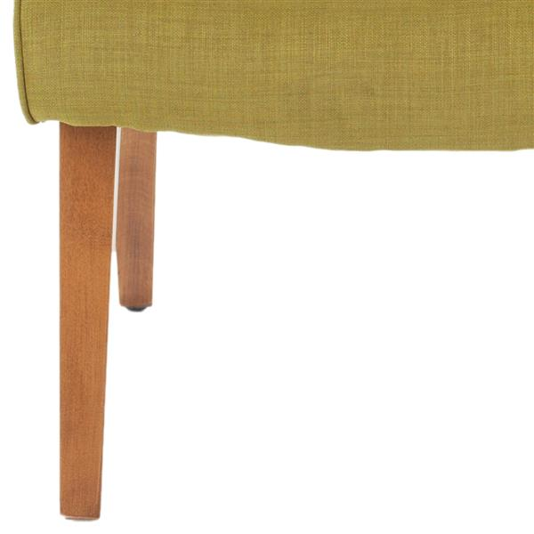 Safavieh Mandell Chair with Buttons - Green