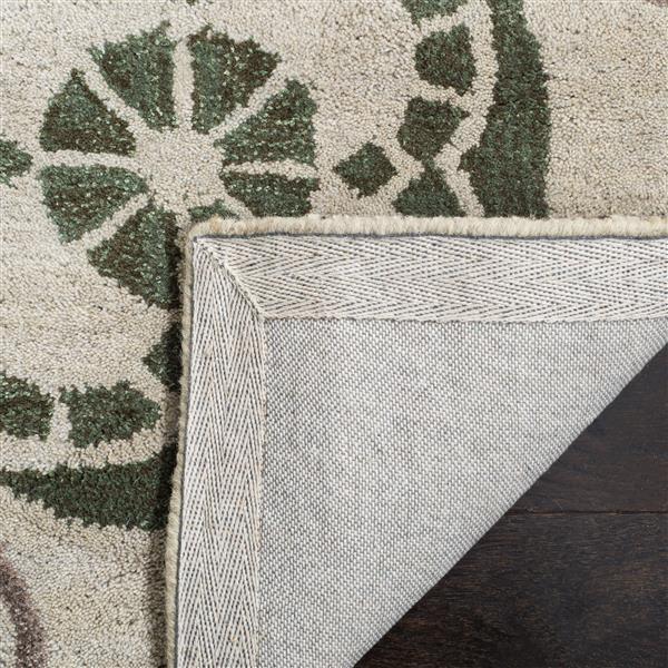 Safavieh Wyndham Square Rug - 7' x 7'- Ivory/Brown
