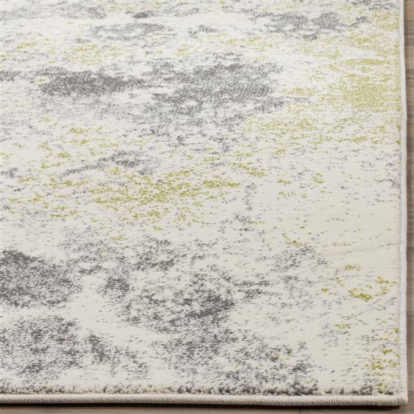 "Safavieh Watercolor Rug - 2' 7"" x 5' - Ivory/Light Blue"