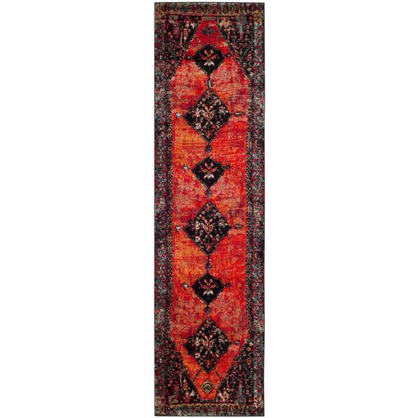 """Safavieh Vintage Hamadan Rug - 2' 3"""" x 14' - Orange"""