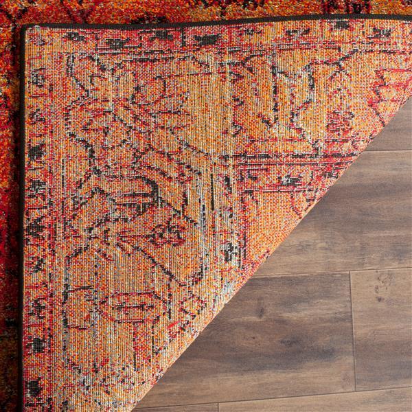 """Safavieh Vintage Hamadan Rug - 2' 7"""" x 5' - Orange"""