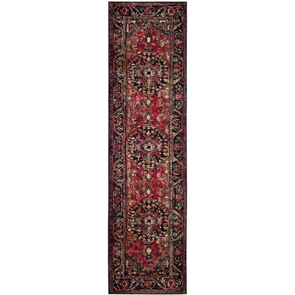 """Safavieh Vintage Hamadan Rug - 2' 3"""" x 14' - Multicoloured"""
