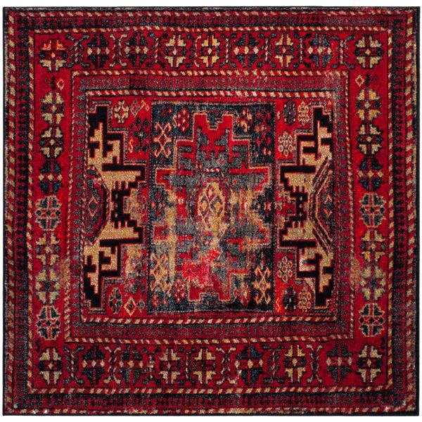 "Safavieh Vintage Hamadan Square Rug - 5' 3"" x 5' 3"" - Multicoloured"