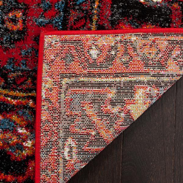 """Safavieh Vintage Hamadan Rug - 5' 3"""" x 5' 3"""" - Multicoloured"""
