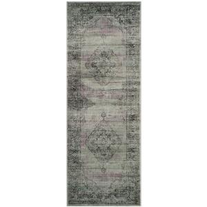 "Safavieh Vintage Rug - 2' 2"" x 6' - Light Blue"