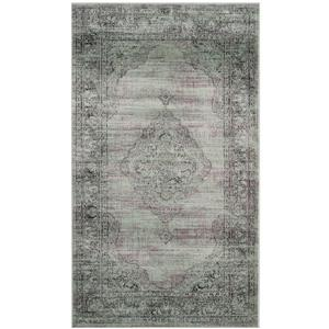 "Safavieh Vintage Rug - 2' 6"" x 4' - Light Blue"