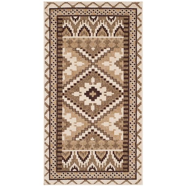 "Safavieh Veranda Rug - 2' 6"" x 5' - Cream/Brown"