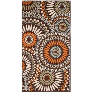 "Safavieh Veranda Rug - 2' 6"" x 5' - Chocolate/Terracotta"