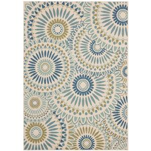 "Safavieh Veranda Rug - 4' x 5' 6"" - Cream/Green"