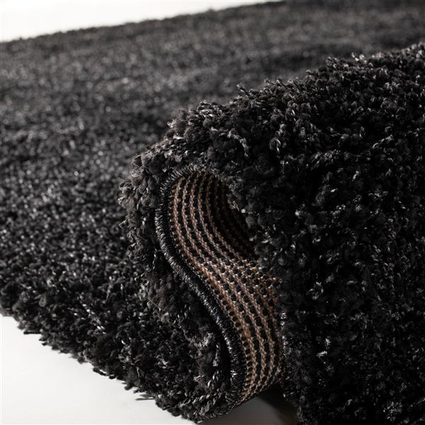 """Safavieh Shag Rug - 8' 5"""" x 12' - Black"""