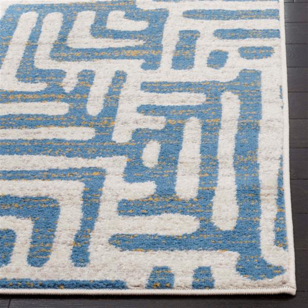 Safavieh Amsterdam Rug - 4' x 6' - Ivory/Light Blue