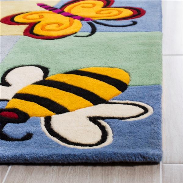 Safavieh Kids Rug - 8' x 10' - Wool - Multicolour