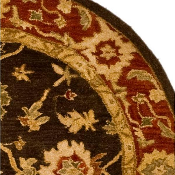 Safavieh Anatolia Floral Rug - 4' x 4' - Wool - Green