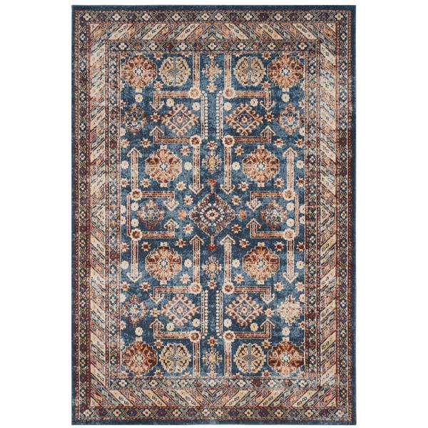 Safavieh Bijar Floral Rug - 4' x 6' - Polypropylene - Blue