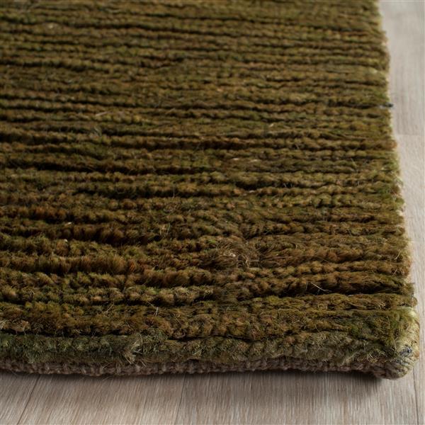 Safavieh Bohemian Solid Rug - 2' x 3' - Jute - Green