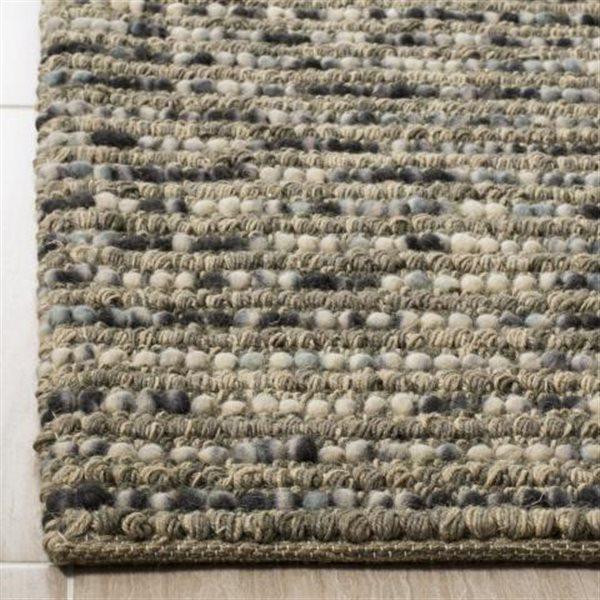 Safavieh Bohemian Solid Rug - 10' x 14' - Jute - Gray