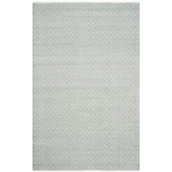 Safavieh Boston Geometric Rug - 4' x 6' - Cotton - Gray
