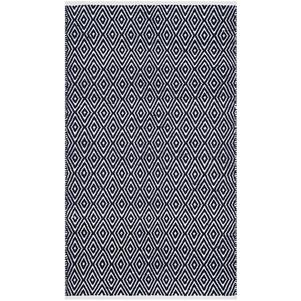 Safavieh Boston Geometric Rug - 3' x 5' - Cotton - Blue