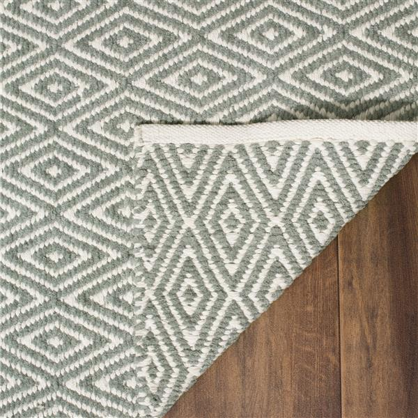 Safavieh Boston Geometric Rug - 3' x 5' - Cotton - Gray
